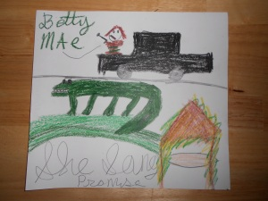 """Betty Mae"" by Pat"